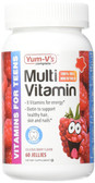 Multi Vitamin for Teens Raspberry Flavor 60 Jellies, Yum-V's
