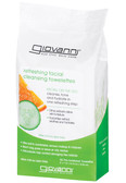 Giovanni 30 Facial Cleansing Towelettes Refreshing Citrus and Cucumber