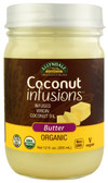 NOW Ellyndale Organics Coconut Infusions Butter 12 oz, NOW Foods