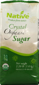 Crystal Organic Sugar 2.2 lb, Native USA