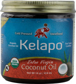 Organic Extra Virgin Coconut Oil 14 oz, Kelapo