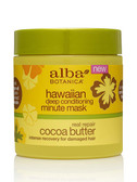 Real Repair Deep Conditioning Minute Mask Cocoa Butter 5.5 oz Alba Botanica