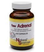 Raw Adrenal 60 Caps Natural Sources