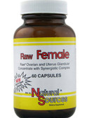 Raw Female 60 Caps Natural Sources