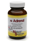 All Adrenal 60 Caps Natural Sources
