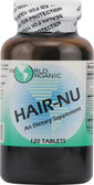 Hair Nu 120 Caps, World Organics