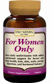 For Women Only 30 Tabs, Only Natural, once-daily multivitamin