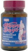 Happy Days P.M.S Formula 32 Tabs, Only Natural PMS