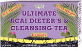 Ultimate Acai Dieter's & Cleansing Tea 24 Tea Bags, Only Natural
