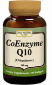 CoEnzyme Q10 100 mg 90 Softgels, Only Natural Ubiquinone