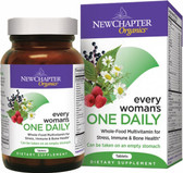 New Chapter Every Woman's One Daily Vitamins 72 Tabs