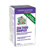 Zinc Food Complex 60 Tabs New Chapter