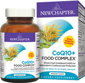 CoQ10+ Food Complex 30 vCaps New Chapter, Cardiovascular