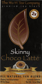 Skinny Choco Latte Chocolate Dream 25 Tea Bags, The Wu-Yi Tea Company