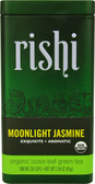 Organic Loose Leaf Green Tea Moonlight Jasmine 1.59 oz, Rishi Tea