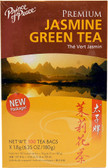 Premium Jasmine Green Tea 100 Tea Bags, Prince of Peace