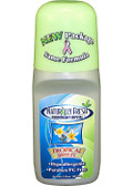 Tropic Breeze Roll-On Deodorant (Honeydew) 3 oz, Naturally Fresh