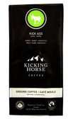 Kick Ass Dark Roast Ground Coffee 10 oz, Kicking Horse Coffee