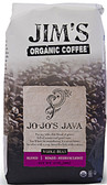 Whole Bean Medium Light Roast Jo-Jo's Java 12 oz, Jim's Organic Coffee