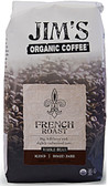 Whole Bean Dark Roast French Roast 12 oz, Jim's Organic Coffee