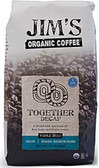 Whole Bean Together Decaf 12 oz, Jim's Organic Coffee