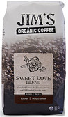 Whole Bean Sweet Love Blend 11 oz, Jim's Organic Coffee
