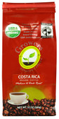 Organic Ground Coffee Costa Rica 12 oz, Growers Alliance Coffee