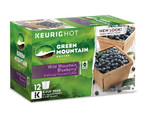 Light Roast Coffee Wild Mountain Blueberry 12 K-Cups, Green Mountain Coffee