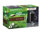 Extra Bold Dark Roast Coffee Dark Magic 12 K-Cups, Green Mountain Coffee