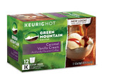 Light Roast Coffee Caramel Vanilla Cream 12 K-Cups, Green Mountain Coffee