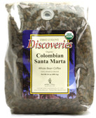 Discoveries Organic Whole Bean Coffee Colombian Santa Marta 24 oz, First Colony