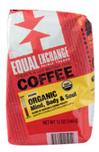 Organic Mind Body & Soul Coffee Ground Medium Roast 12 oz, Equal Exchange
