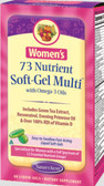Women's 73 Nutrient Multi 60 Softgels Nature's Secret