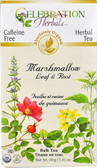 Organic Marshmallow Leaf & Root Tea CF Decaf 1.41 oz, Celebration Herbals