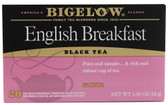Black Tea English Breakfast 20 Tea Bags, Bigelow Tea