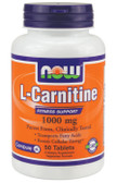 Carnitine Tartrate 1000 mg 50 Tabs, Now Foods