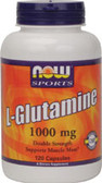 L-Glutamine 100 0mg 120 Caps, Now Foods