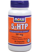 5-HTP 50 mg 90 Caps, Now Foods, Positive Mood