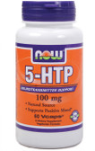 Now Foods 5-HTP 100 mg 60 vCaps, Stress, Relaxation
