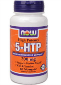 5-HTP 200 mg 60 vCaps, Now Foods, Mood