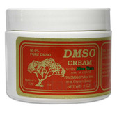 Cream w/Aloe Vera Rose Scented 2 oz, DMSO