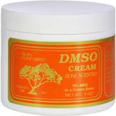Cream Rose Scented 4 oz, DMSO