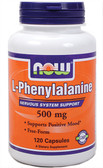 Phenylalanine 500 mg 120 Caps, Now Foods, Mood