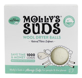 Wool Dryer Balls 3 Balls, Molly's Suds
