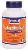 L-Tryptophan 1000 mg 60 Tabs Now Foods, Stress