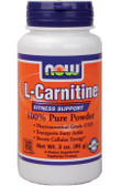 L-Carnitine Powder 3 oz Now Foods, Cellular Energy