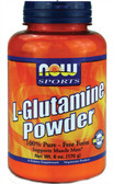 Glutamine Pure Powder 6 oz, Now Foods, Muscle Mass