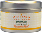 Citronella Plus 5 Essential Oils 1 Candle, Aroma Naturals