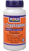 Now Foods L-Tryptophan Powder 2 oz, Stress
