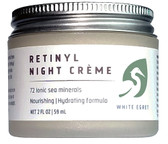 Retinol Night Creme 2 oz, White Egret